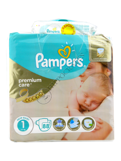 Памперс New Baby 1 Premium Care № 22   2-5kg