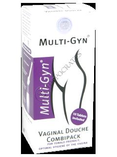 Multi-Gyn Douche Combi-pack Irigator vaginal