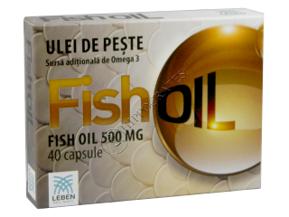 Рыбий жир Leben