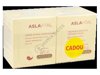 Аславитал Mineralactiv Промо пакет крем увлажняющий SPF15+крем против морщин