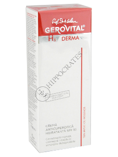 Gerovital H3 Derma+ crema anticuperozica hidratanta SPF10,