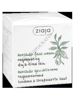 Ziaja Natural Avocado oil. Crema regeneranta pentru fata