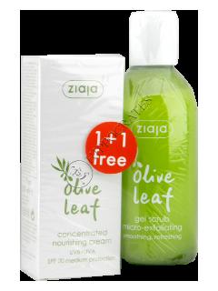Зиажа Olive Leaf.крем-концентрат питательн.SPF20 +гель-скраб