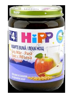 HIPP Piure Noapte Buna Gris mar-para