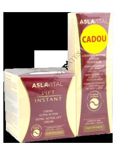 Aslavital Lift Instant Pachet Promo crema lift ultra-activa (35+)+crema contur ochi buze