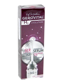 Gerovital H3 Evolution Ser Concentrat cu acid hialuronic