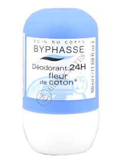 Byphasse Deodorant Roll-on 24h  Cotton Flower