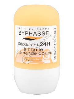 Byphasse Deodorant Roll-on 24h  Sweet Almond Oil