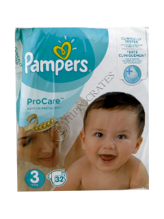 Pampers PRO Care 3 № 32 4-9kg