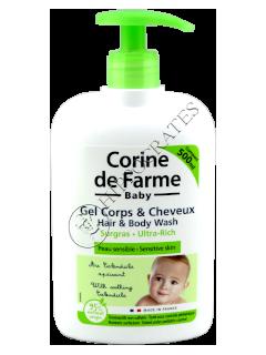 CF Baby Ultra Rich Gel Dus  Fara Sulfati pentru corp si par