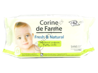 CF Baby Natural Servetele Umede pentru copii №62
