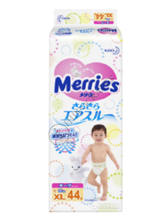 MERRIES Size XL №44 12-20kg (SJ) scutece
