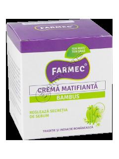 Farmec crema matifianta bambus