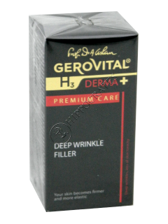 Геровитал H3 Derma+ Premium Care крем филер против морщин 15 мл