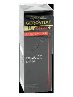 Gerovital H3 Derma+ Premium Care crema CC SPF 10