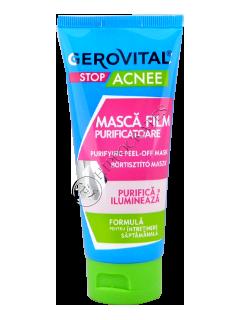 Gerovital Plant Stop Acnee masca film purificatoare