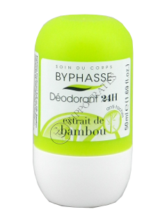 Byphasse Deodorant Roll-on 24h  Bamboo Extract
