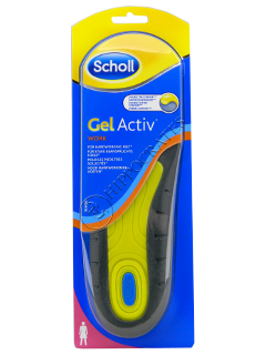 Scholl Стельки Gelactiv Work Women