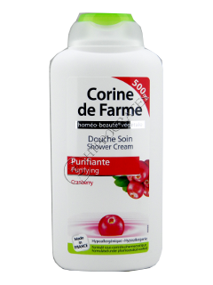 CF Crema de dus purificatoare cranberry