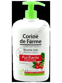 CF Crema de dus purificatoare cranberry 750 ml