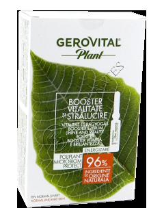 Геровитал Plant бустер жизнеспособность и блеск № 10  ампулы