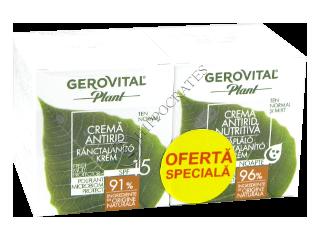 Геровитал Plant Промо Пакет крем против морщин SPF 15 + питательный крем против морщин