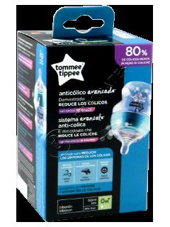 Бутылочка (0+) 150 мл антиколиковая с датчиком температуры и системой вентиляции TT0025