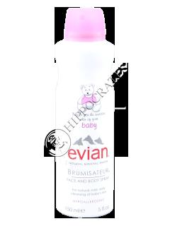 Evian  Baby Apa Minerala Naturala Spray 150 ml