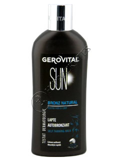 Геровитал Sun  молочко для автозагара