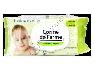 CF Baby FreshNatural  Servetele Umede pentru copii