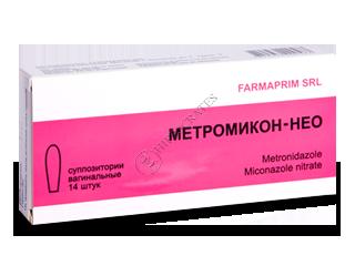 Метромикон-Нео супп ваг 5 мг+1 мг №14 купить в
