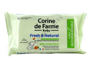 Baby FreshNatural Servetele Umede pentru copii