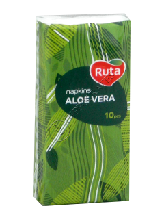 Носовые салфетки RUTA ALOE VERA