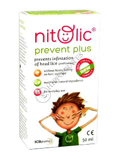 Nitolic Prevent Plus 50ml spray (2ani+)